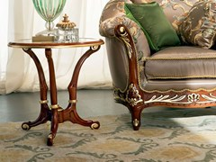 Tavolino di servizio rotondo in legno 13655 | Tavolino - Bella Vita