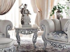 Tavolino di servizio quadrato da salotto 13662 | Tavolino - Bella Vita