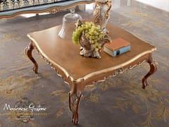 Tavolino basso quadrato in legno 13667 | Tavolino - Bella Vita
