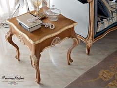Tavolino di servizio quadrato in legno 13668 | Tavolino - Bella Vita