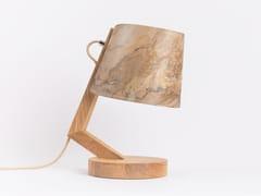 Lampada da tavolo fatta a mano in legno con dimmer1411 | Lampada da tavolo - CLUSTA LAMPS