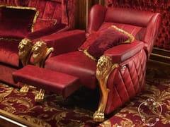 Poltrona relax in pelle con braccioli 14430 | Poltrona relax - Deluxe