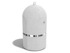Dissuasore cilindrico fisso in calcestruzzo per catene145/146 | Dissuasore - ENCHO ENCHEV - ETE