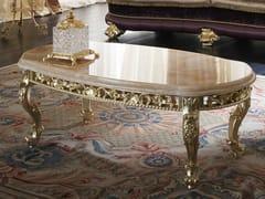 Tavolino basso ovale 14623 | Tavolino ovale - Deluxe