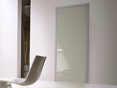 Porta d'ingresso blindata con cerniere a scomparsa MONOLITE  - 15.1004 MNT6000 - Design Collection - Monolite