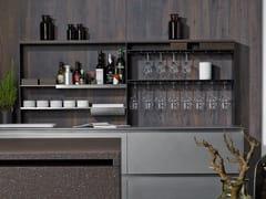Schienale per cucina attrezzato in alluminio15 SQUARE | Schienale per cucina - EGGERSMANN KÜCHEN