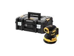 Levigatrice roto-orbitale 18V XR BRUSHLESS 125MM SANDER - BARE UNIT TSTAK - DEWALT® STANLEY BLACK & DECKER ITALIA