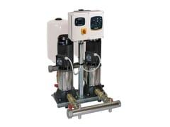 Gruppi Di Pressurizzazione Con 1- 2-3 Pompe Centrifughe Pluristadio Ad Asse Verticale1KVC - DAB PUMPS