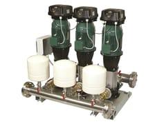 Dab Pumps, 2/3/4 NKVE 10-15-20-32-45 MCE/P Gruppo a pressione costante con mce/p