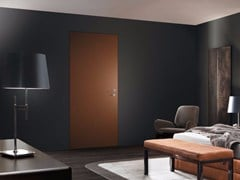 Porta d'ingresso a filo muro blindata laccata MONOLITE RM - 15.2006 MRM6 - Design Collection - Monolite RM