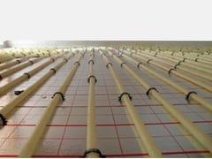 Sistema radiante a pavimento liscioROLL GRAFITE - BUDERUS