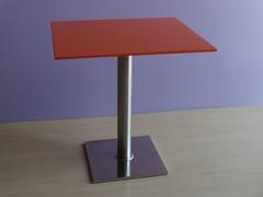 Tavolo quadrato in Corian®Tavolo quadrato - CAVALLARO MARCO