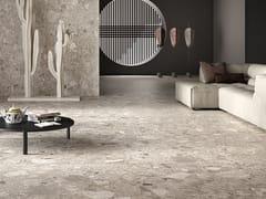 Pavimento/rivestimento in gres porcellanato effetto pietraWIDE GRES 260 GRÈ EFFECT GREY - CERAMICHE COEM