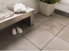 Pavimento per esterni in gres porcellanato effetto pietra 20MM - ROX COAL - URBATEK - Grès Porcellanato