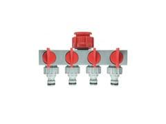 Presa rubinetto 4 uscite con regolazione del flusso differenziata20064 | Presa rubinetto - IPIERRE SYSTEM