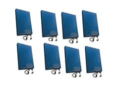 Kit per impianto fotovoltaico2080 WATT KIT C/W 8 PANELS-8 MICRO - GARO ELECTRIC