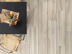 Pavimento per esterni in gres porcellanato effetto legno 20MM - RIVEN CREAM - URBATEK - Grès Porcellanato