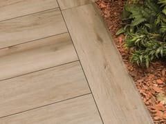 Pavimento per esterni in gres porcellanato effetto legno 20MM - RIVEN BROWN - URBATEK - Grès Porcellanato