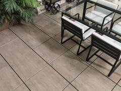 URBATEK, 20MM - WEST BROWN Pavimento per esterni effetto legno