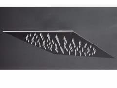Soffione doccia a pioggia a soffitto ultrapiatto in acciaio inox 2200121/2 | Soffione doccia - Doccia