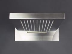 Soffione a cascata e pioggia da parete in acciaio inox 2200191/2 | Soffione doccia - Doccia