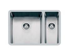 Lavello a una vasca e mezzo sottotop in acciaio inoxKE V40dx+V18sx / V18dx+V40sx TPR S/TOP - FOSTER