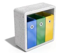 Portarifiuti in calcestruzzo per esterni per raccolta differenziata244/245 | Portarifiuti per raccolta differenziata - ENCHO ENCHEV - ETE