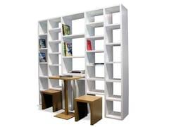 Libreria a giorno laccata25 | Libreria - ARTE E FALA