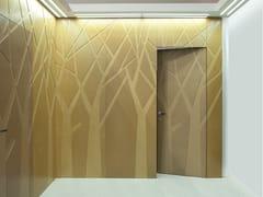 Porta a battente a filo muro in legno25° BY ARNAUDO - BERTOLOTTO