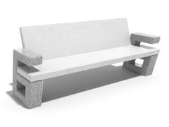 ENCHO ENCHEV - ETE, 252 | Panchina in calcestruzzo  Panchina in calcestruzzo