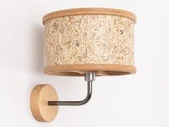 Lampada da parete fatta a mano in fieno2610 | Lampada da parete - ALMUT VON WILDHEIM