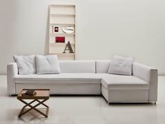 Divano letto in tessuto con chaise longue 2800 BEL AIR | Divano letto con chaise longue - 2800 BEL AIR
