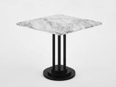 Tavolino basso quadrato in marmo in stile moderno per contract282 - B | Tavolino quadrato - ADICO