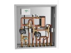 Modulo di zona e collettore 2853 | Gruppo di collegamento energia - Caleffi Biomass®