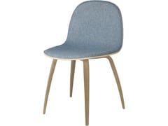 Sedia imbottita in legno2D DINING CHAIR | Wood base - GUBI