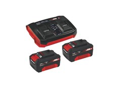 Kit batteria e caricabatteria PXC Starter Kit2x 3,0Ah & Doppio caricatore Kit - EINHELL ITALIA