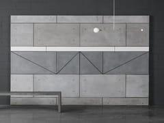 Rivestimento / piano per tavoli in calcestruzzo fibrorinforzatoPANNELLO 4x2 - ATELIERB