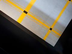 Tappeto a motivi fatto a mano in feltro di lanaSTRIPES | Tappeto a motivi - BUXKIN