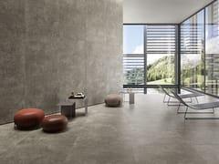 Pavimento/rivestimento in gres porcellanato effetto pietraWIDE GRES 260 LAGOS LIGHT GREY - CERAMICHE COEM