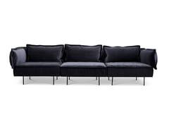 Divano in velluto a 3 posti Divano a 3 posti - Modular Sofa