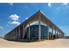 HunterDouglas Architectural, 300 C/L ESTERNI Sistema di controsoffitti a pannelli larghi