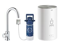 Rubinetto da cucina / dispenser acqua potabile in metalloRED MONO - SIZE M | Dispenser acqua calda - GROHE