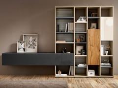 Libreria a giorno autoportante componibile in legno 30MM | Libreria - 30mm