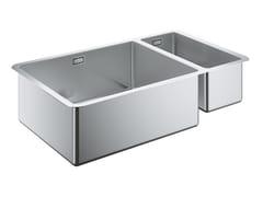 Lavello a una vasca e mezzo sottotop in acciaio inox K700 - 31575SD0 | Lavello - K700