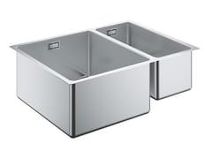 Lavello a una vasca e mezzo sottotop in acciaio inox K700 - 31577SD0 | Lavello - K700
