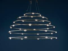 Lampada a sospensione a LED in ottone32 PETITS BIJOUX - CATELLANI & SMITH