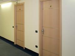 Porta tagliafuoco acustica in legno32 DB | Porta acustica - SEBINO CHIUSURE