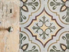 A.Tessieri & C., 348 - ED. 1927 Mattonella in cementina decorata