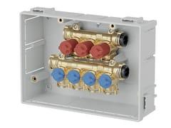 Collettore preassemblato con intercettazioni singole359 | Collettore idrosanitario - CALEFFI