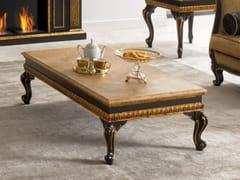 Tavolino rettangolare con piano in marmo35TH ANNIVERSARY 2183-M - SCAPPINI & C. CLASSIC FURNITURE